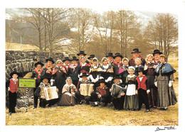15-CANTAL FOLKLORE GROUPE FOLKLORIQUE LES ARIOMDOUX-N°T2800-B/0347 - Autres Communes