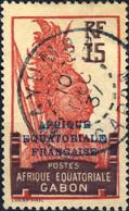 """GABON - 1937 CàD De """" MAYUMBA """" Sur Yv.94 15c Violet-brun & Rouge-carmin - Non Classés"""