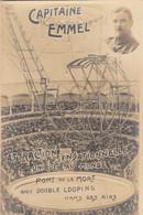 Circus/Cirque - Attraction Sensationelle - Pont De La Mort - Capitaine Emmel - Foto J. Rentmeesters (C457) - Collections