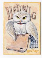 HARRY POTTER Carte Postale N° PC0415 EDITEE EN 2001 HEDWIG HEDWIGE CHOUETTE - Otros