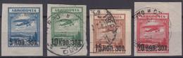 RUSSIE : POSTE AERIENNE N° 14 NEUVE * GOMME & N° 15/17 OBLITERATIONS LEGERES - Unused Stamps