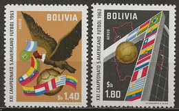 BOLIVIE: **, PA N° YT 228 Et 229, TB - Bolivien