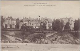35  Saint Lunaire  -  La Plage - Un Groupe De Villas - Saint-Lunaire