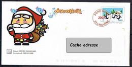 PAP - Lettre Père Noël 2007. Livourne. - Prêts-à-poster:  Autres (1995-...)
