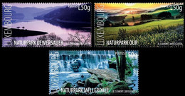 Luxembourg 2015, Nature Reserves, MNH Stamps Set - Ongebruikt