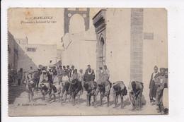CP MAROC CASABLANCA Prisonniers Balayant Les Rues - Casablanca