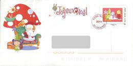 PAP - Lettre Père Noël 2011. Libourne. - Prêts-à-poster:  Autres (1995-...)