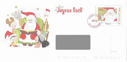 PAP - Lettre Père Noël 2012. Libourne. - Prêts-à-poster:  Autres (1995-...)