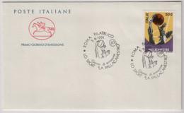 """Italia - 1991 - FDC Cavallino """"Lo Sport Italiano - La Pallacanestro """" MNH** - F.D.C."""