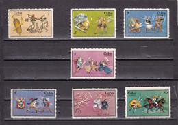 Cuba Nº 1319 Al 1325 - Neufs