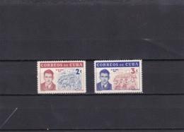 Cuba Nº 595 Al 596 - Neufs
