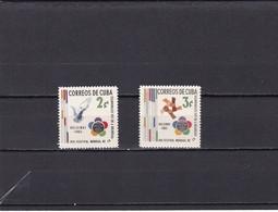Cuba Nº 597 Al 598 - Neufs