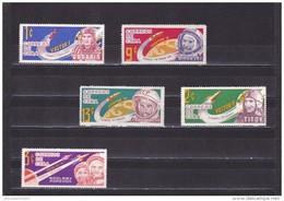 Cuba Nº 657 Al 659b - Neufs