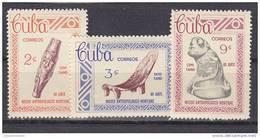 Cuba Nº 671 Al 673 - Neufs