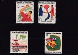 Cuba Nº 726 Al 729 - Neufs