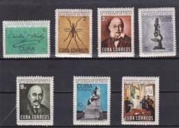 Cuba Nº 858 Al 867 Manchas En La Goma - Unused Stamps