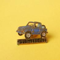 Pin's Automobile SAMOURAI  4X4  - Sachet 7 - Non Classificati