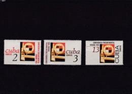 Cuba Nº 955 Al 957 - Unused Stamps