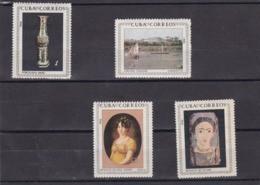 Cuba Nº 971 Al 974 - Unused Stamps