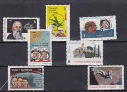 Cuba Nº 975 Al 981 - Unused Stamps