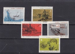 Cuba Nº 984 Al 988 - Unused Stamps