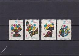 Cuba Nº 989 Al 992 - Unused Stamps