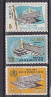Cuba Nº 993 Al 995 - Neufs