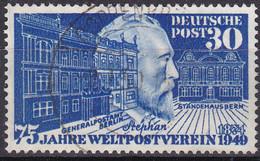 BRD 1949,  116, Used Oo,  75 Jahre Weltpostverein (UPU). - Gebraucht