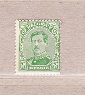 1915 Nr 137A** Zonder Scharnier,lichte Hoekplooi. Koning Albert I.Type II.OBP 10 Euro. - 1915-1920 Albert I