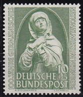 BRD 1952,  151, MNH **,  Germanisches Nationalmuseum - Unused Stamps