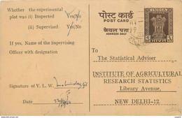 Inde India Entier Postal Stationary Tigre - Briefe U. Dokumente