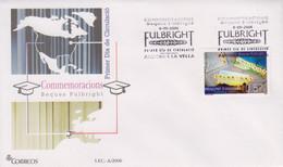 Enveloppe  FDC  1er  Jour   ANDORRE   ANDORRA     Bourse  D' Etudes   FULBRIGHT     2006 - Sin Clasificación