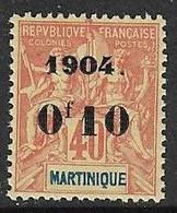 MARTINIQUE N°55 **   Neuf Sans Charnière MNH - Ungebraucht