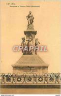 CPA Catania Monumento A Vincenzo Bellini - Catania