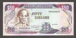 Giamaica - Banconota Non Circolata FdS Da 50 Dollari P-83e - 2010 #19 - Jamaica