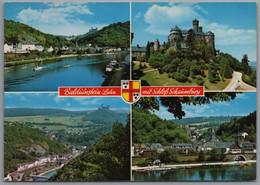 Balduinstein - Mehrbildkarte 1   Mit Schloß Schaumburg - Andere