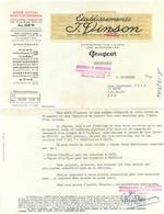 CONSTANTINE ALGER ETS VINSON DISTRIBUTEURS PEUGEOT 1956 - 1950 - ...