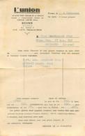 REIMS L'UNION JOURNAL LE PLUS FORT TIRAGE DE LA REGION ANNONCE POUR AUTO DYNA - 1950 - ...