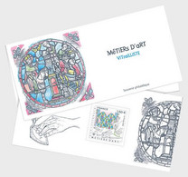 France 2021 - Metiers Art Vitralliste Souvenir - Nuevos