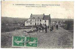 LAVAVEIX LES MINES - Quartier Bas De La Gare - Route D'Ahun Et Puits Emile - Zonder Classificatie