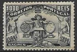 Portugal Mint Clean Hinged * 1894 750 Euros - Unused Stamps