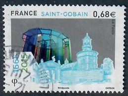 YT 4984 Saint Gobain Cachet Rond - Used Stamps