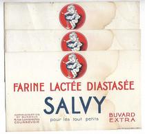 Buvard Farine Lactée Diastasée Salvy Lot De 3 Buvards - Alimentos