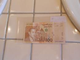MAROC    100   DIRHAMS   -  COMMEMORATIVE   BILLET - Marocco