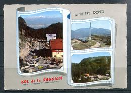Le Col De La Faucille - Le Col Et Le Mont-Blanc - Le Mont Rond (carte Multivues) - Sin Clasificación