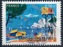 YT 5046 Saint Brevin Les Pins Cachet Rond - Used Stamps