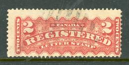 Canada USED 1875-96 Registration Stamp - Neufs