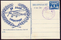 Nederland Evenementen Briefkaart (klG) FIL28, Paars Stempel Rotterdam-Oudedijk - Postwaardestukken