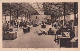 279384Les Grandes Brasseries Et Malteries De Champigneulles, Atelier De Menuiserie Mécanique. (voir Coins) - Ohne Zuordnung