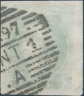 AUSTRIA-L'AUTRICHE-ÖSTERREICH,1880 Newspaper Stamp,½Kr Green Imperforated, Oblitered 1897 - Journaux